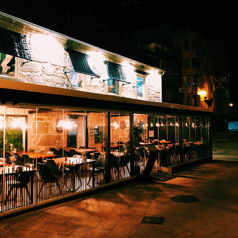 Local Sanxenxo Restaurante Gabba Vinos tapas Sanxenxo